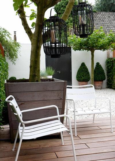 Madera en el jard n 10 consejos sobre c mo usarla y for Cobertizo de madera de jardin contemporaneo