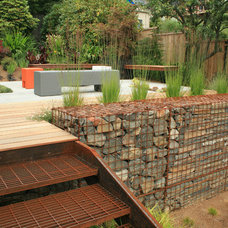 Industrial Deck by Banyon Tree Design Studio