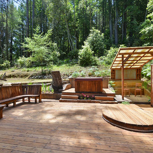 Mountain style deck photo in San Francisco