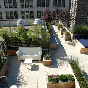 Manhattan roof terrace