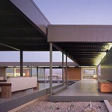 Modern Deck by Marmol Radziner