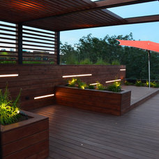 Modern Deck by ZBuilders