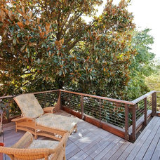 Transitional Deck by CHECA Architects PC