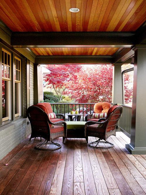 Rustikale Terrasse Washington, D.c. - Ideen Für Die ... Rustikale Terrassengestaltung