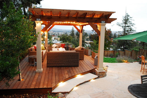- What Type Of Wood Was Used For The Decking And Pergola?