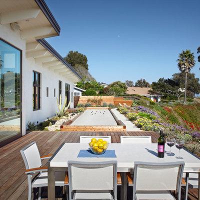 Deck - contemporary deck idea in Santa Barbara