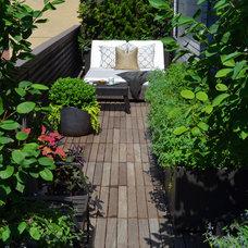 Transitional Deck by Jeffrey Erb Landscape Design