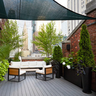Midtown Manhattan Rooftop Garden
