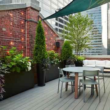 Midtown Manhattan Rooftop Garden