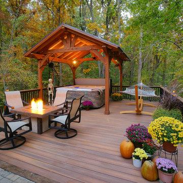 Millersville Fiberon deck