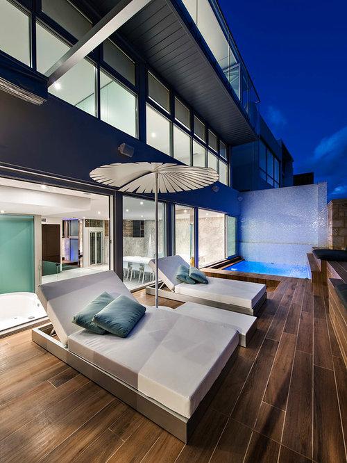 Minum cove concept home perth wa contemporary exterior perth - Deck Tiles Ideas Pictures Remodel And Decor