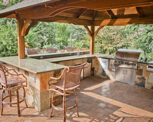 mediterrane terrasse houston - ideen für die terrassengestaltung, Hause und Garten