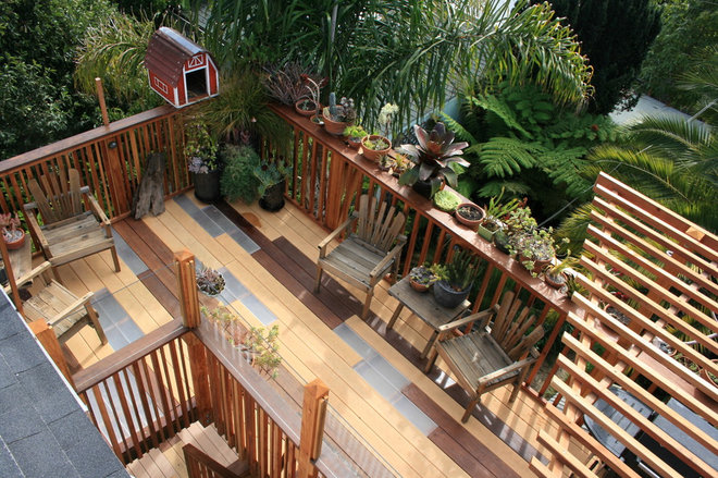 Contemporary Deck by Paxton Gate