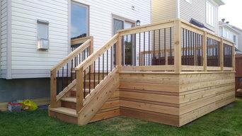 Modern Deck Addition
