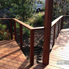 Modern Home Fencing And Gates by San Diego Cable Railings