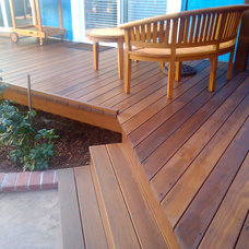 Traditional Porch by Heath Carpentry