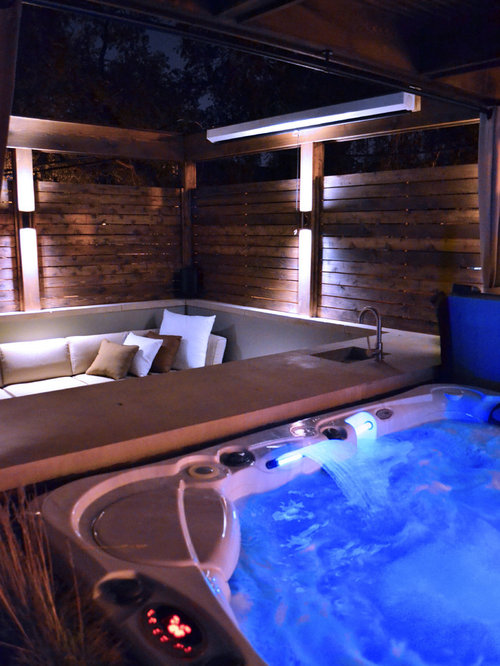 Hot tub retreat for 4 elements salon chicago