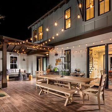 Modern Farmhouse - Builder Magazines 2016 International Builders Show Show Home