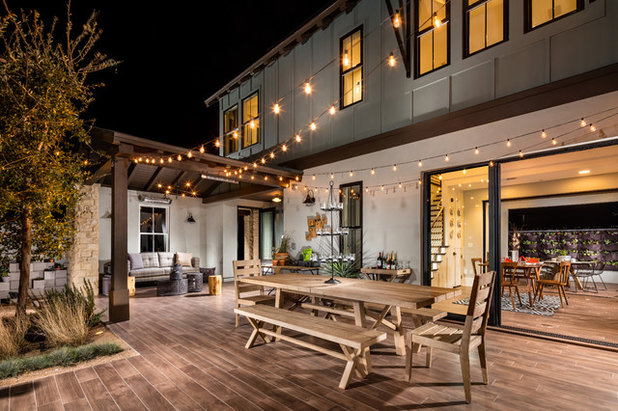 Farmhouse Deck by Bobby Berk Home