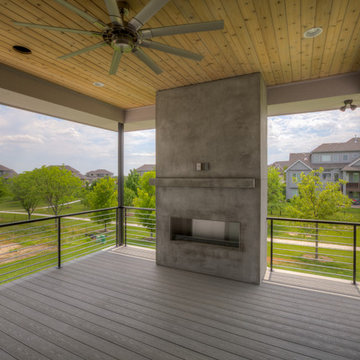 Modern Industrial Ranch | Gramercy Homes By Siebler Building Co.