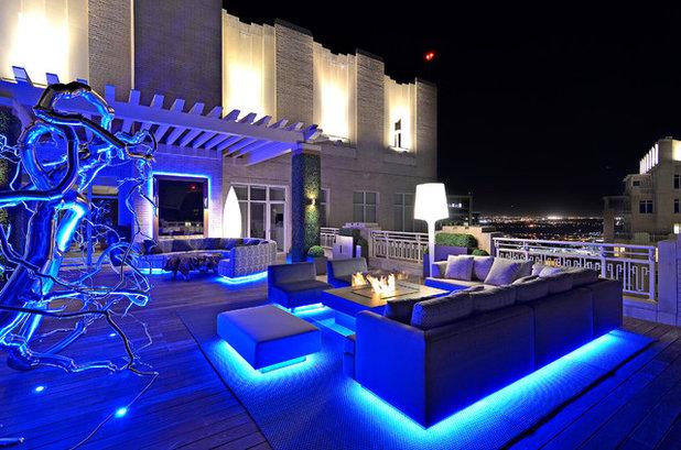 10 id es lumineuses pour une jolie terrasse estivale. Black Bedroom Furniture Sets. Home Design Ideas