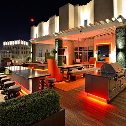 Patios With Lights