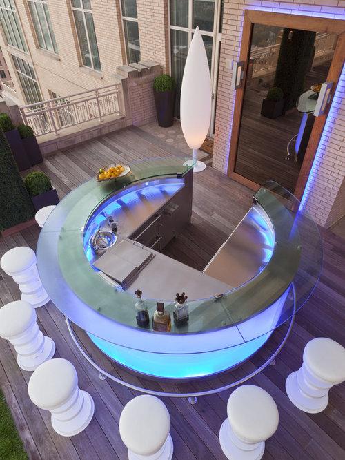 Circular Bar Houzz