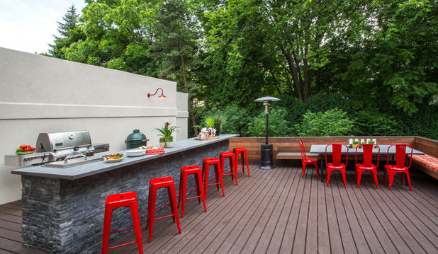 Contemporary Deck by Michael Norpell's Wall to Wall
