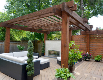 Modern Pergola Outdoor Living
