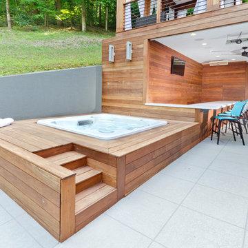 Modern Pool and Patio
