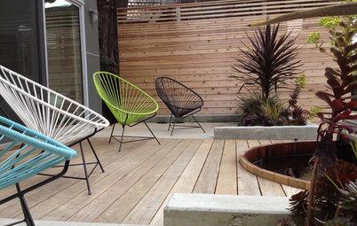 Zoom mobilier : Le fauteuil Acapulco, pour une déco solaire