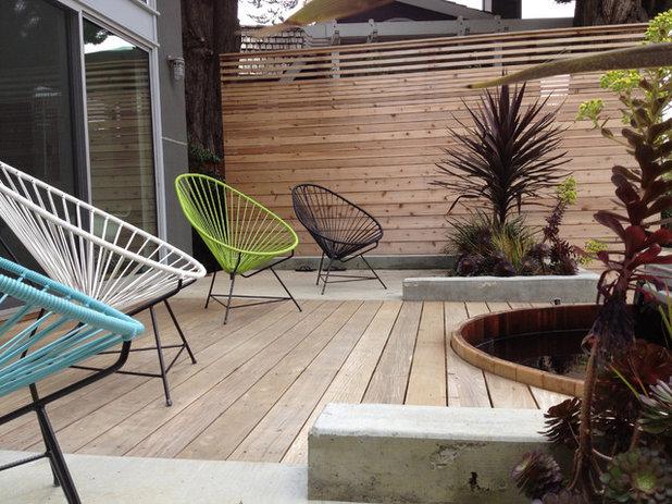 modern deck by costello kennedy landscape architecture - Minimalist Landscape Architecture