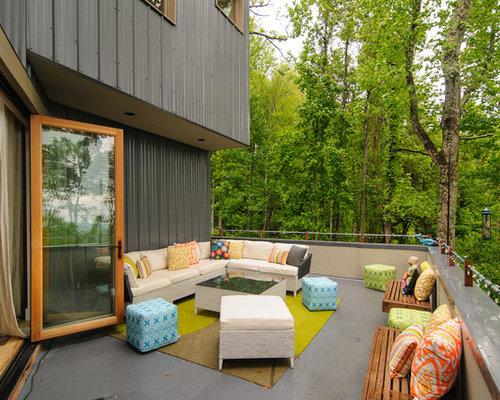 sip home designs. Contemporary backyard deck idea in Other Modern Sip Home  Houzz