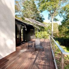 Contemporary Deck by Benco Construction