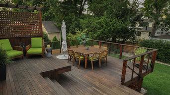 Montclair Contemporary Deck