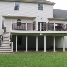 Traditional Deck by T Kristl Construction LLC