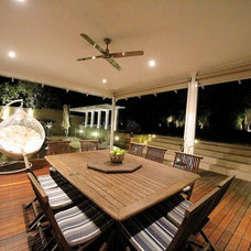 Contemporary Deck by SolScapes
