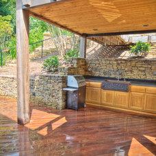 Contemporary Deck by Landform Designs