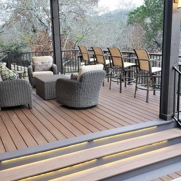 Multi-Level Deck in Leander, TX