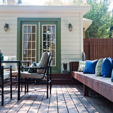 Contemporary Deck by Angela Flournoy
