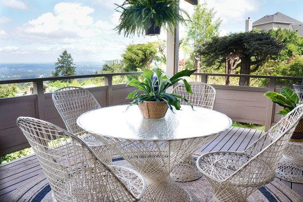 Ecléctico Terraza y balcón by STRUKTR Studios Photography