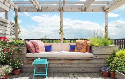 10 aménagements multifonctions optimisent les petites terrasses