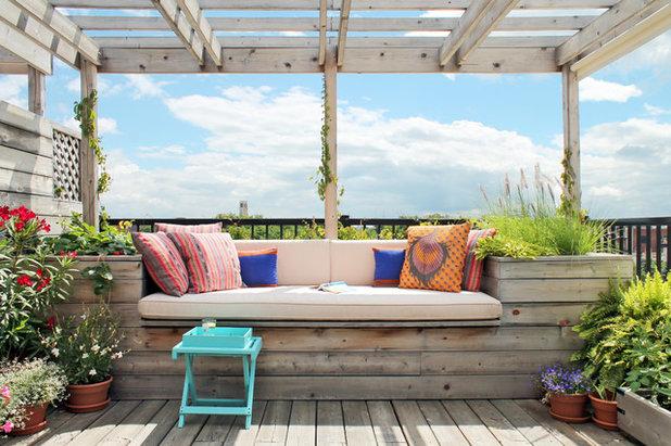 Optimiser une petite terrasse gr ce des am nagements - Petite table de terrasse ...