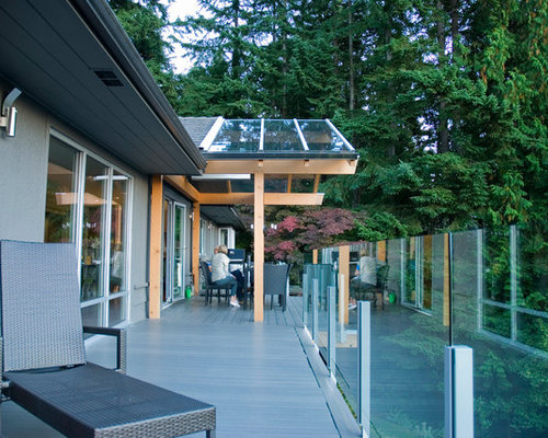Glass Roof Over Deck Houzz