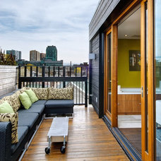 Transitional Deck by Andrew Snow Photography