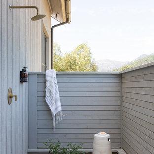 Ispirazione per terrazze e balconi country con nessuna copertura