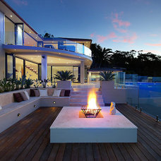 Contemporary Deck by Peter Glass & Associates