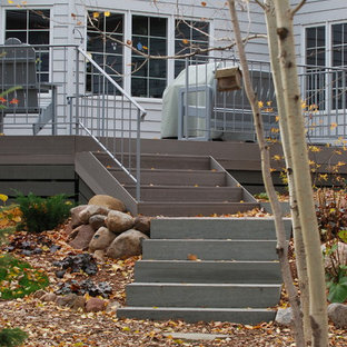 Inspiration for a timeless deck remodel in Minneapolis