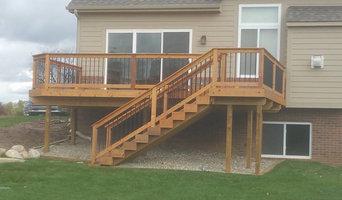 New Cedar Deck Stain in Clarkston MI
