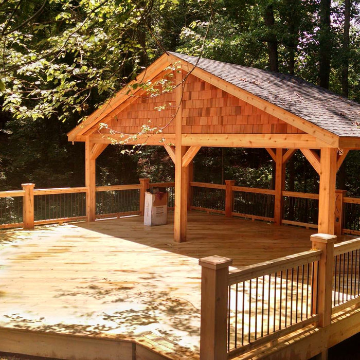 New Deck for outdoor entertaining